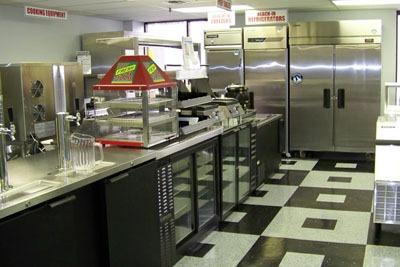 Auto Ice Restaurant Equipment Showroom 1